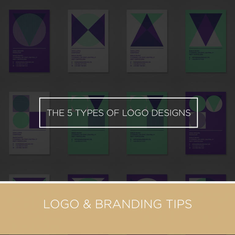 types of logo designs