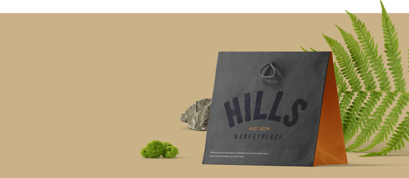 Hills Marketplace full branding