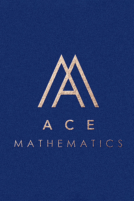 Ace Mathematics logo design