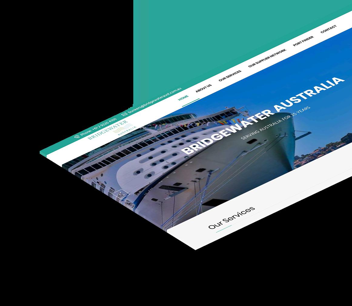 Bridgewater Australia website design