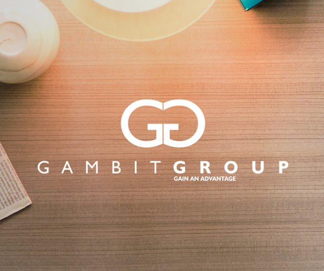 Gambit Group graphic design