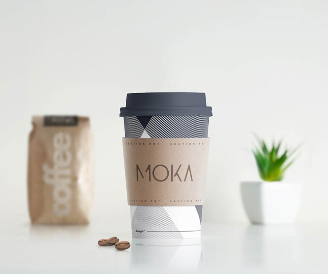 Moka graphic design