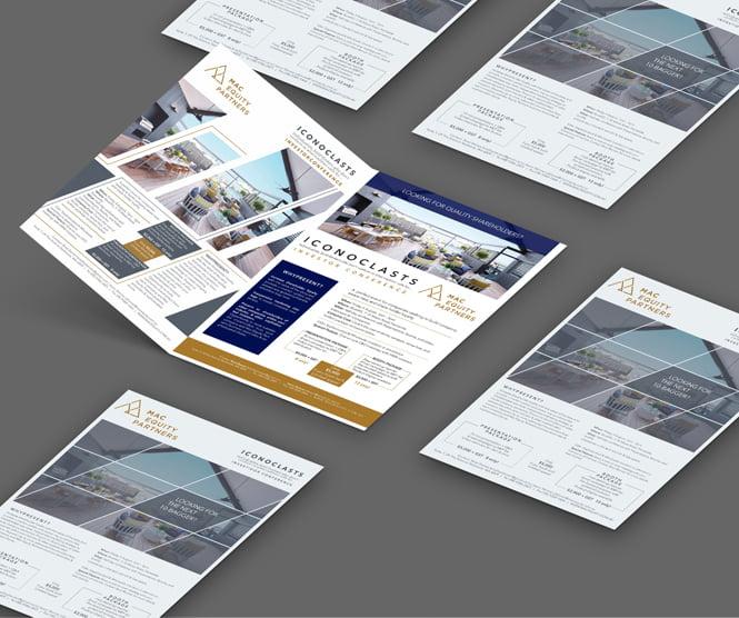 Iconoclasts graphic design